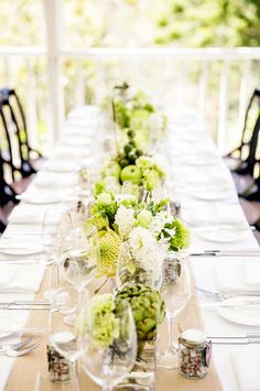 Best of 2013: Beautiful Tablescapes from Real Weddings   Mine Forever
