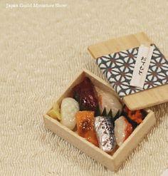 miniature Sushi by Mamehiro