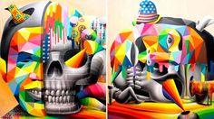 Vibrantes colores en Street Art español que despertará tus sentidos