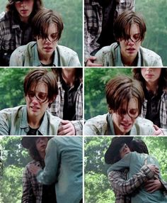 The Walking Dead Season 7 Ep. 1 'The Day Will Come When You Won't Be' Maggie & Carl