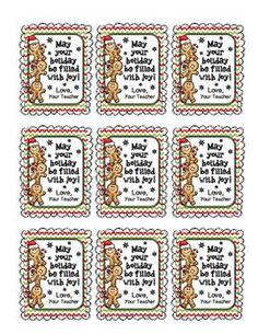 It& that time of year again. Holiday Gift Tags for Student Gifts. Student Christmas Gifts, Holiday Gift Tags, Christmas Gift Tags, Student Gifts, Holiday Crafts, Teacher Gifts, Student Treats, Holiday Activities, Christmas Ideas