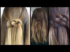 Infinity braid [Frisuren Freitag] - YouTube