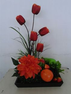 Flores artificiales board53 pinterest gladioli and - Arreglos florales artificiales modernos ...