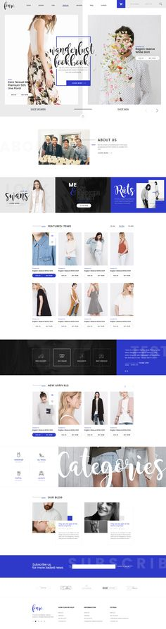 Fonre PSD Template is an awesome design idea for your online shop. Creative. Modern. Elegant. Clean. Also it will be very easy to customize, enable you to either create a stunning layout of your own or just do some minor adjustments! Check out the screens…