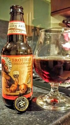 North Coast Brother Thelonious Belgian Style Ale. Watch the video beer review…