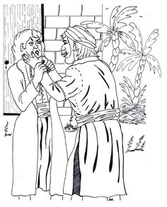 Unforgiving servant parable coloring page mfw rome to for Unmerciful servant coloring page