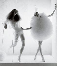 A Magical World by Tim Walker, Vogue Italia January, 2008