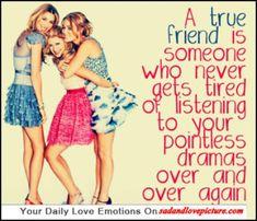 true friends... lol