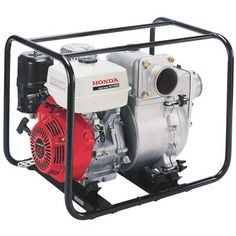 This Honda Trash Pump is powered by a powerful Honda GX340 OHV engine with Oil Alert®. Designed for use on job sites and other applications where high-volume trash water capacity is needed. Built to last with durable silicon carbide mechanical seals and a cast iron volute and impeller.