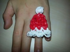 Rainbow Loom Instructions For Every Pattern! Santa Hat Ring or Charm Instructions | Rainbow Loom Instructions For Every Pattern!
