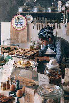 peterbaker:   Astro Coffee, Corktown, Detroit