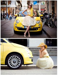 So, I bought a new car. The Fiat 500. From Italy. It's cool.
