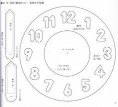 plantilla reloj … More