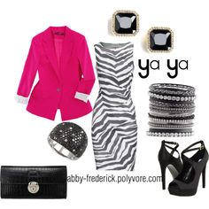 Looks like a great night out!  Created by abby-frederick.polyvore.com
