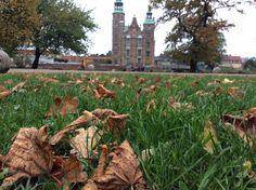 Guarded castle  in Copenhagen, Denmark