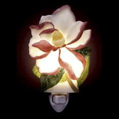 Night Light Japanese Magnolia, Asian Night Light