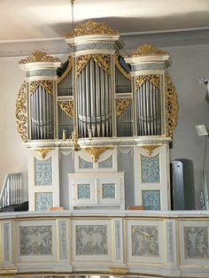 Fraureuth Orgel Gottfried Silbermann