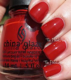 China Glaze - Seeing Red - perfect red?