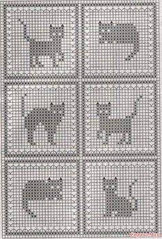 Cross Stitch Patterns Free - Knittting C - Diy Crafts - Marecipe Filet Crochet Charts, Knitting Charts, Cross Stitch Charts, Baby Knitting Patterns, Cross Stitch Designs, Crochet Stitches, Cross Stitch Patterns, Cross Stitching, Cross Stitch Embroidery