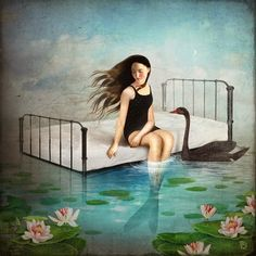 22-Kays-Dream-Christian-Schloevery-Surreal-Paintings-Balance-of-Mind-and-Heart-www-designstack-co