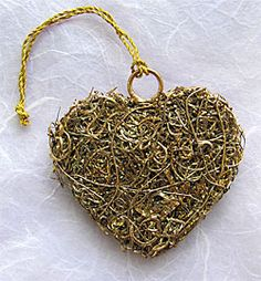 Made from an entanglement of recycled copper wire