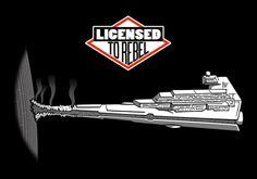 Star Wars, Beastie Boys  Licensed to Rebel by Doodle Dojo