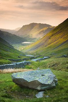Valley's End, Lake District, England