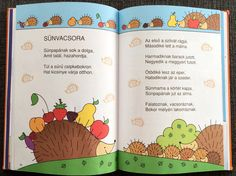 Projects For Kids, Fall Decor, Hedgehog, Kindergarten, Poems, Bullet Journal, Teaching, Easy Crafts, Autumn
