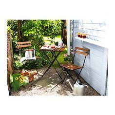 IKEA - TÄRNÖ, Chaise, extérieur, Se replie pour un rangement facile.Pour accroître sa résistance et que vous puissiez apprécier l'aspect naturel du bois, ce meuble a été prétraité avec plusieurs couches de teinture pour bois semi-transparente.