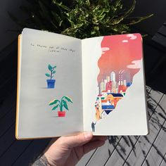 There's something very satisfying about putting these coloured up sketchbooks together! Sorry if I'm posting them too much ☀️ Happy Monday, hope you have a fantastic week . Arte Sketchbook, Sketchbook Pages, Sketchbook Ideas, Small Sketchbook, Sketch Journal, Illustrations, Illustration Art, Creative Illustration, Art Sketches