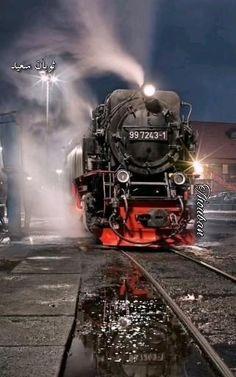 Best Photo Background, Dslr Background Images, Picsart Background, Locomotive Diesel, Steam Locomotive, Train Tracks, Train Rides, Old Steam Train, Night Train