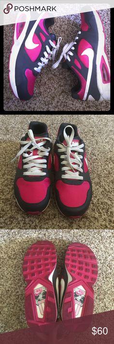 Nike Air Max's Nike Air Max's Hot Pink & Gray. No box Nike Shoes Athletic Shoes