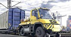 Railway Unimog with 1000T towing capacity