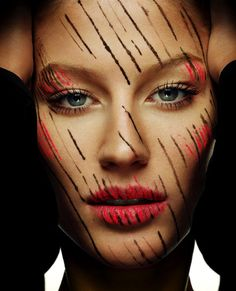 """Make up Art"" - Gisele Bundchen by Regan Cameron"