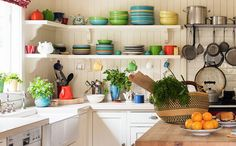 cores na cozinha