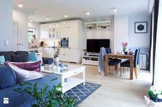 Salon w kolorach pastelowych. Outdoor Furniture Sets, Outdoor Decor, Modern Classic, Sweet Home, Ikea, Living Room, Interior Design, Bedroom, Kitchen
