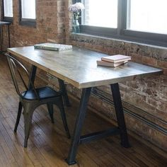 "Urban Wood Goods Dining Table Top Finish: Natural, Size: 42"" H x 36"" W x 72"" L"