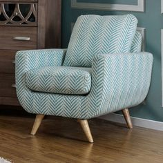 Shop for Furniture of America Carissa Mid-Century Modern Fabric Accent Chair. Get free shipping at Overstock.com - Your Online Furniture Outlet Store! Get 5% in rewards with Club O! - 19745180