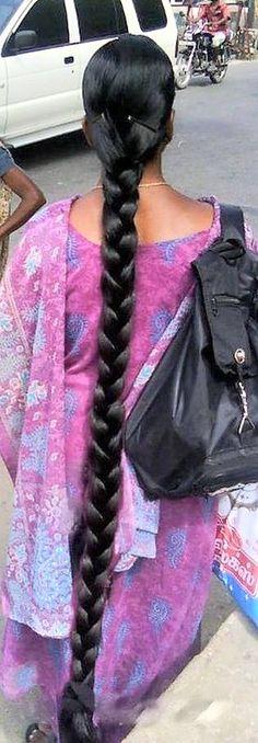 Best Indoor Garden Ideas for 2020 - Modern Plaits Hairstyles, Indian Hairstyles, Girl Hairstyles, Forced Haircut, Plait Hair, Bun Hair, Indian Long Hair Braid, Beautiful Braids, Super Long Hair