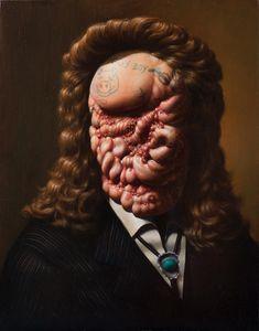 Disfigured Art  Wow! Disturbing but very interesting. Disfigured portraits by artist Christian Rex van Minnen.