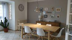 Planche projet décoration d'un salon & salle à mangé Cosy et réalisation.