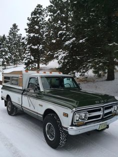 1972 GMC K1500 Green/White LWB One Owner - Page 2 - The 1947 - Present Chevrolet & GMC Truck Message Board Network