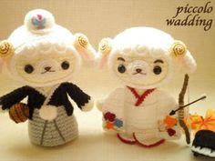 pareja amigurumi pagina japonesa.