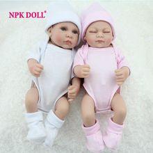 10 Polegada Preemie Bonecas Bebes Reborn De Silicone Bonecas Para Venda Moda Gêmeo Menino E uma Menina de Brinquedo de Presente(China (Mainland))