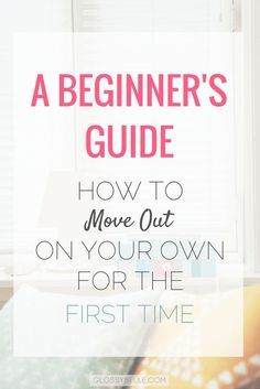 Are you interested in moving out on your own? There are so many factors to consider when moving out of your parent's house for the first time. It can be a very scary yet exciting and exhilarating time of your life. Here are some tips on what to expect and