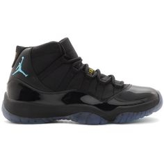Air Jordan 11 Retro 'Gamma Blue' Release Reminder ❤ liked on Polyvore featuring shoes, jordans and sneakers