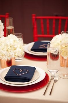 Navy-and-Red-Wedding-Ideas