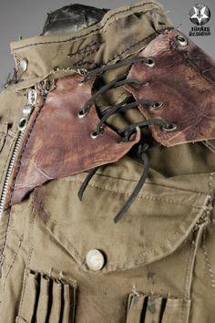 Image of Junker Designs Men's Harlock Recycled Army Vest