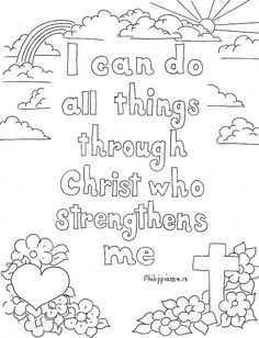 bible coloring page