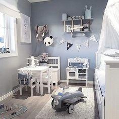 Luxurious Nursery Room Design You'll Love Baby Boy Rooms, Baby Bedroom, Baby Boy Nurseries, Nursery Room, Girl Nursery, Kids Bedroom, Nursery Ideas, Nursery Grey, Boy Toddler Bedroom
